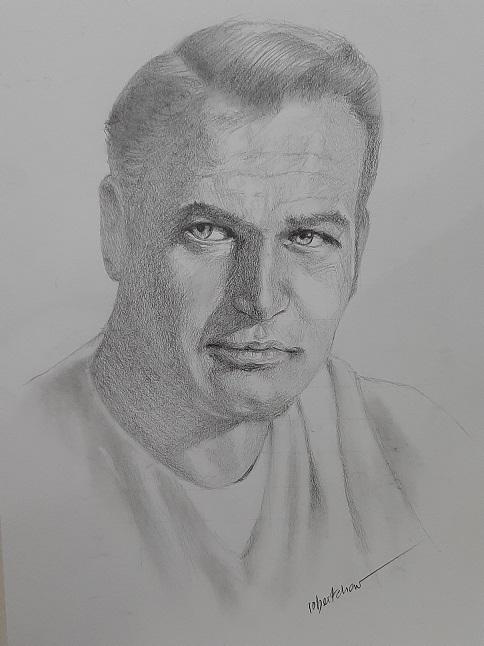 Paul Newman by Bobchew